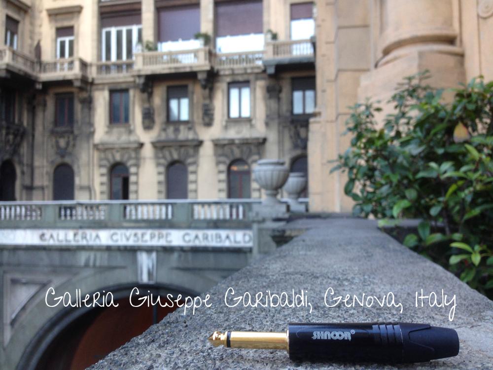 SHNOOR-Galleria Giuseppe Garibaldi, Geno