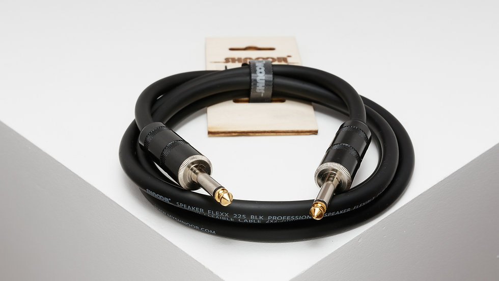 225-PJPJ 2 x 2,5 mm² guitar amp/speaker cable with 6,3 mm powerjack connectors