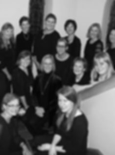 The Collegium Ladyes women's ensemble group photo