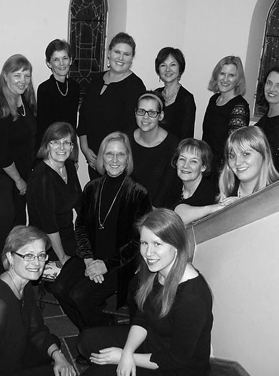 The Collegium Ladyes women's ensemble group photo