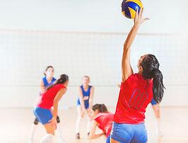 Voleibol de la niña