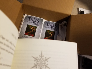 Copies of Tales by the Tree have arrived