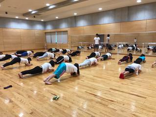 『中高生のダンスチームのトレーニングをしてきました!』