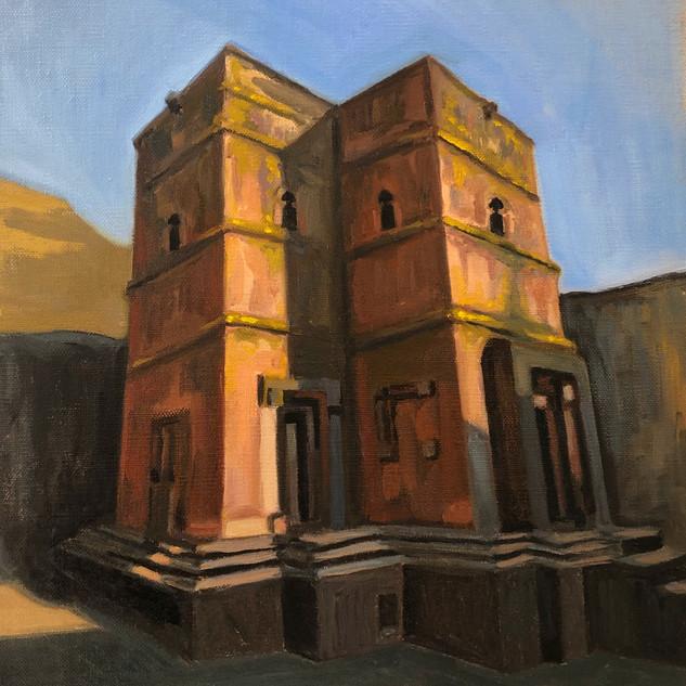 Church of Saint George, Lalibela. Ethiopia.