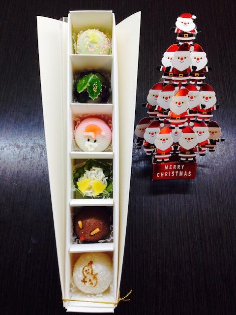 クリスマス茶菓