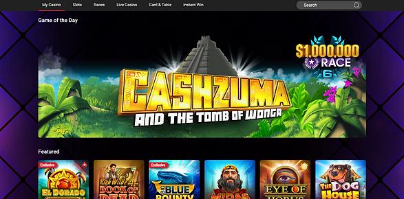 PokerStars Casino Homepage