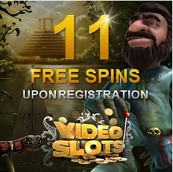 VideoSlot welcome Bonus free spin