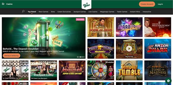 mrgreen homepage