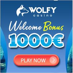 wolfy casino welcome bonus no wager