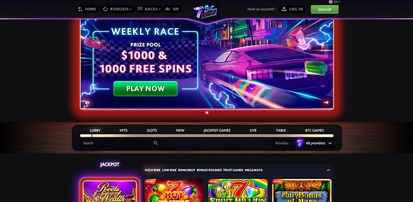 7bit casino homepage