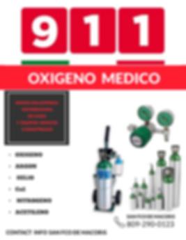 OXIGENO MEDICO 911
