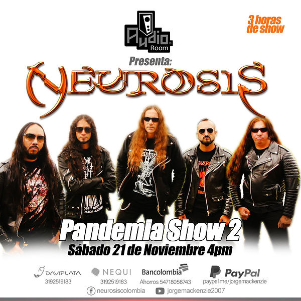 neurosis pandemia show colombia