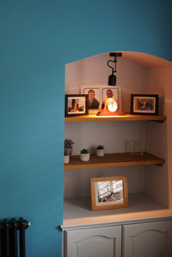 Living Room Alcove Details