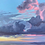 Thumbnail: Pastel Storm- Framed Premium Gallery Wrap Canvas