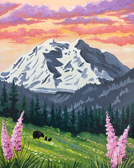 Denali National Park - Giclée Art Print