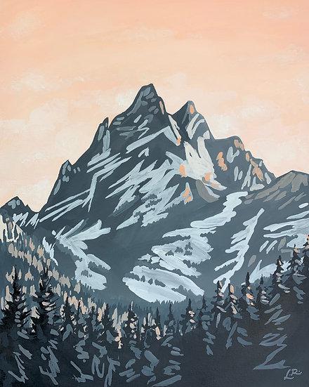 Grand Teton National Park - Giclée Art Print