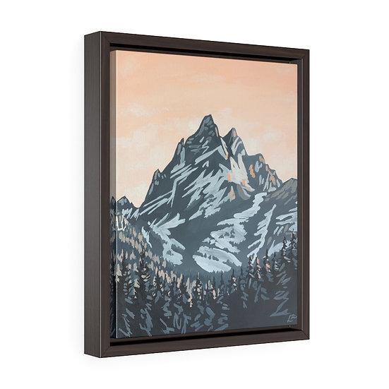 Grand Teton- Framed Premium Gallery Wrap Canvas