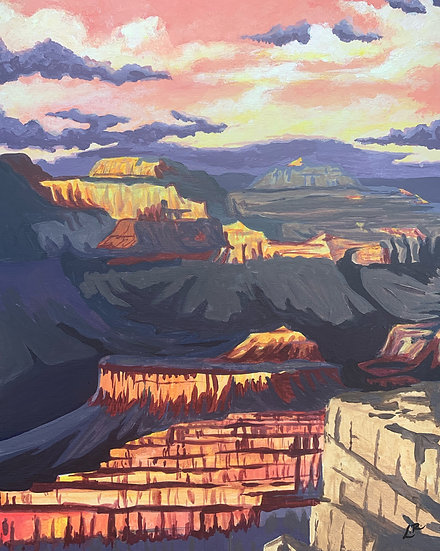 Grand Canyon National Park - Giclée Art Print