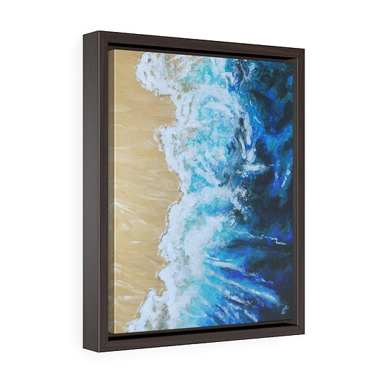 Gary's Dance - Framed Premium Gallery Wrap Canvas