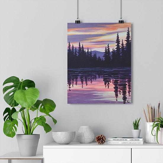 Evergreen Reflection - Giclée Art Print