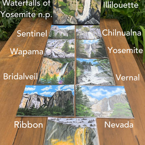 Waterfalls of Yosemite
