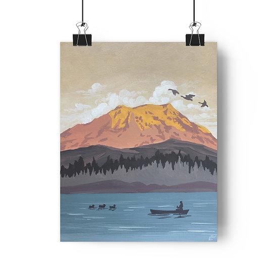 Mount Ranier National Park - Giclée Art Print