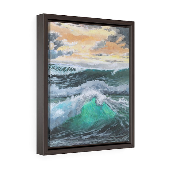 Turbulence - Framed Premium Gallery Wrap Canvas