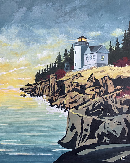 Acadia National Park - Giclée Art Print
