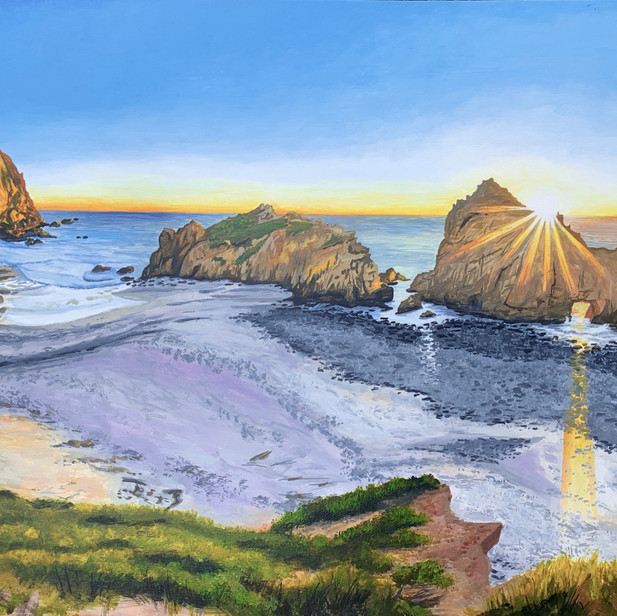 Big Sur Beach sunset
