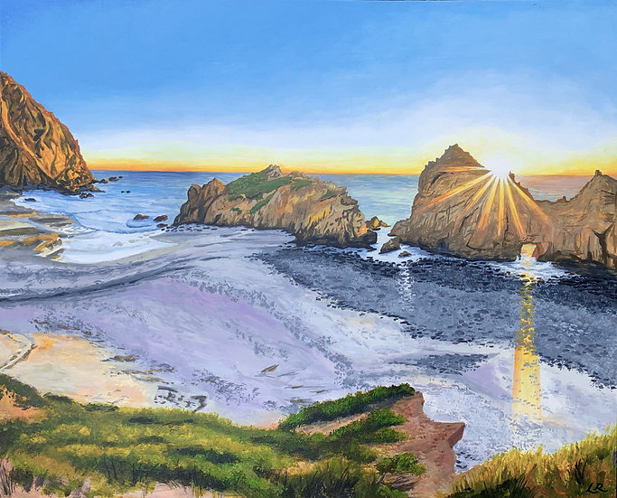 Pfeiffer Beach, Big Sur - Giclée Art Print
