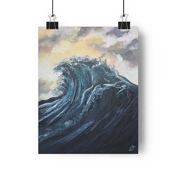 Sebastion's Wave - Giclée Art Print