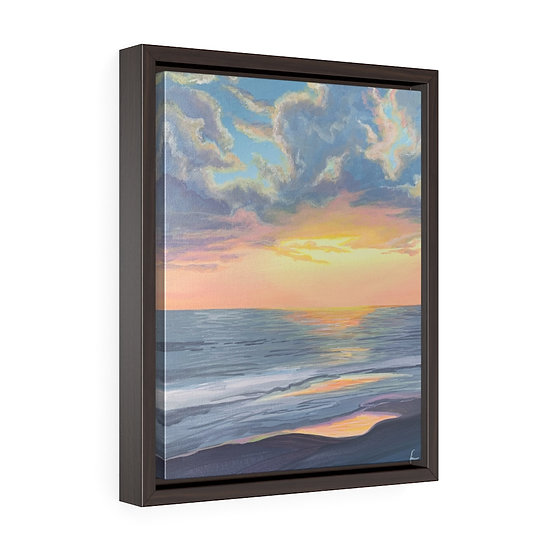 Pastel Highlight- Framed Premium Gallery Wrap Canvas
