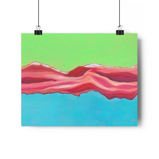 Baconscapes 2 - Giclée Art Print