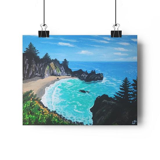 Pfeiffer Beach, Big Sur - Giclée Art Print
