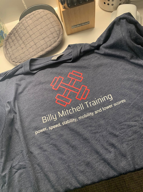 Billy Mitchell Logo Short Sleeve Shirt