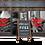Thumbnail: 1 Chalkstar A-Board, 968mm H x 670mm W, 775mm x 578mm. Display area.