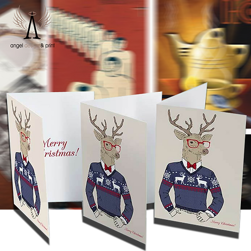 250 A5 Greeting or Invite cards 4pp 350gsm silk card