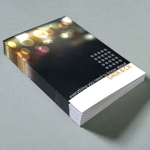 A5 Booklets Portrait Saddle Stitched by