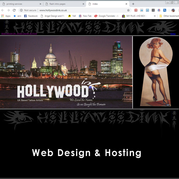 Web Design & Hosting pic 1 Angel Design