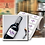 Thumbnail: 250 Mini Wine Bottle Labels, 51mm W x 76mm H  printed full colour