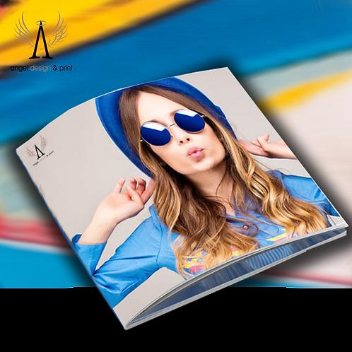 SQ 210mm Booklets & Brochures Artwork & Design 8pp.