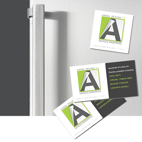 100 MAGNETIC Business Cards Printed Full Colour ONE SIDE