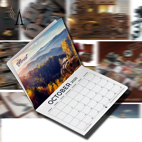 50 Promotional Calendars 28 pages A4 170gsm Printed Full Colour