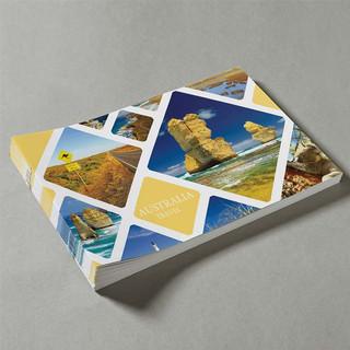 A4 Booklets Landscape Saddle Stitched by