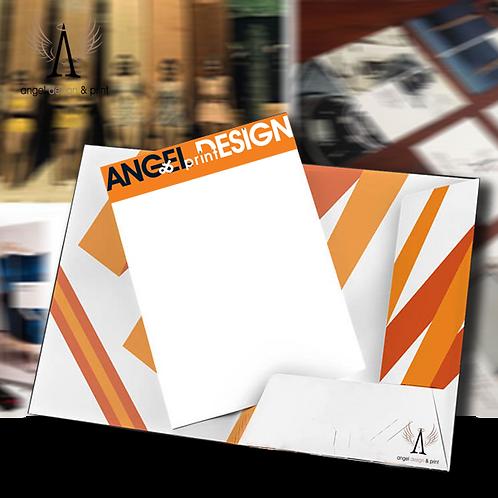 500 A4 Presentation Folders, Laminated & printed full colour.