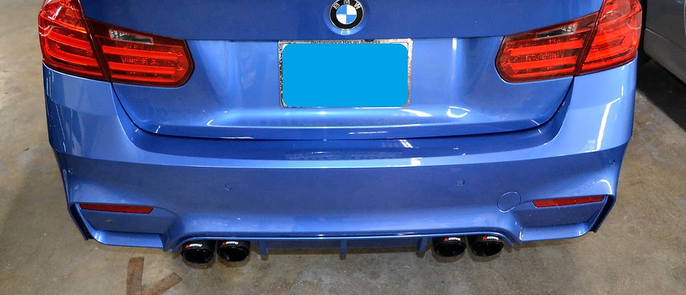 BMW Custom Exhaust