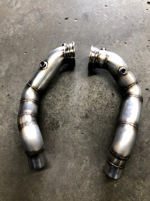 F10 M5 Downpipes Stainless