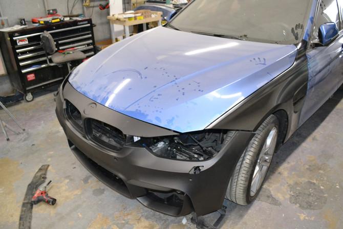BMW F30 Collision Repair