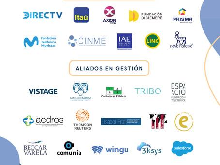 Renovamos la alianza en gestión con 18 organizaciones