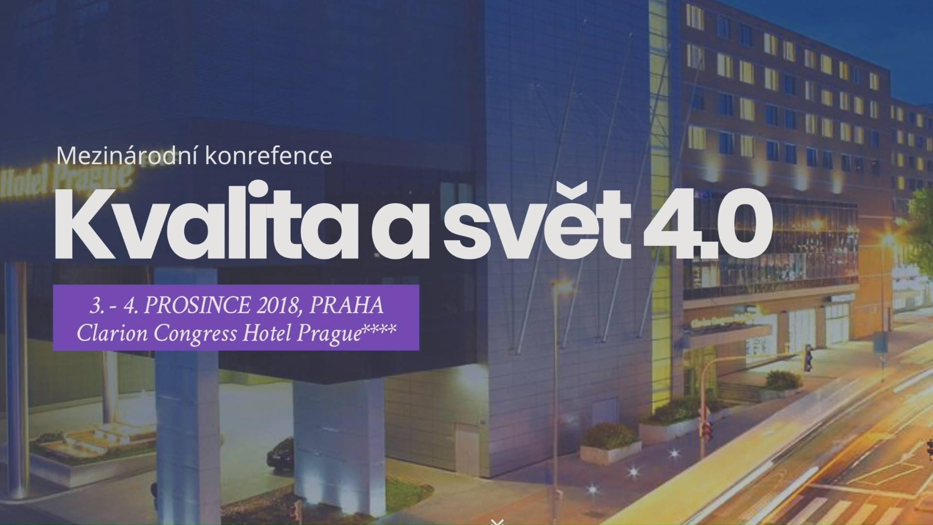 Mezinárodní konference Kvalita a svět 4.0